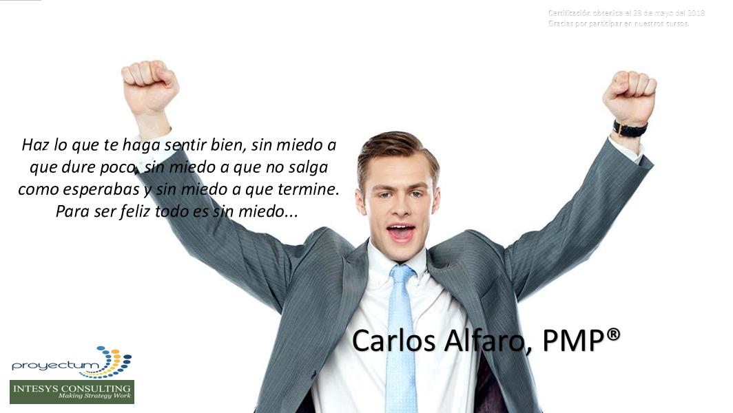 Carlos Alfaro, PMP®