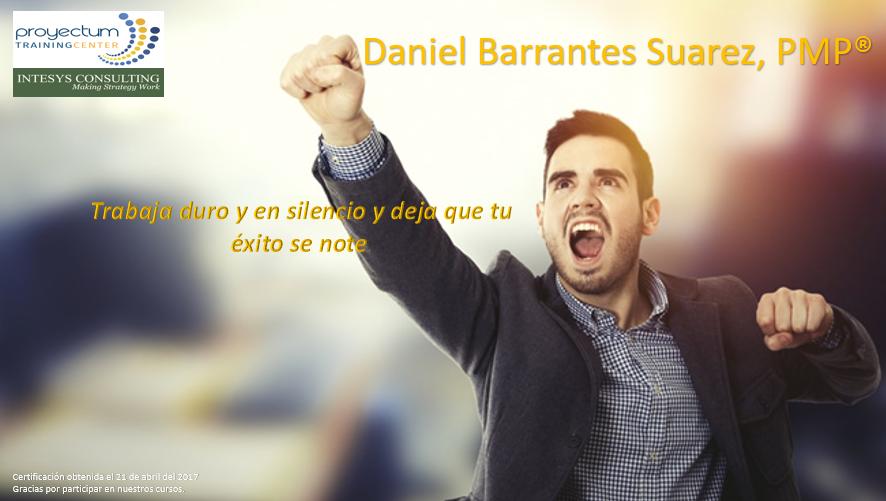 Daniel Barrantes Suarez, PMP®