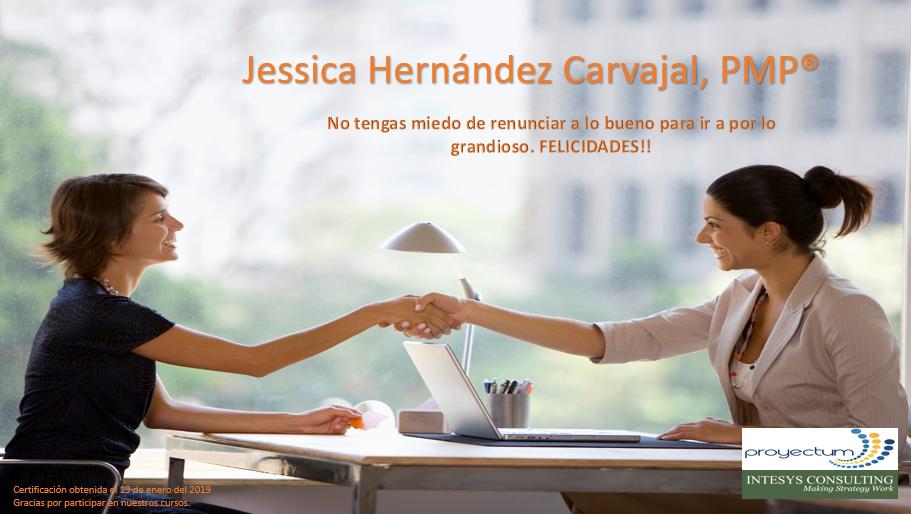 Jessica Hernández Carvajal, PMP®