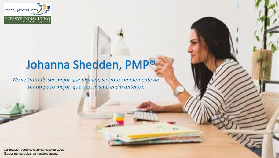 Johanna Shedden, PMP®