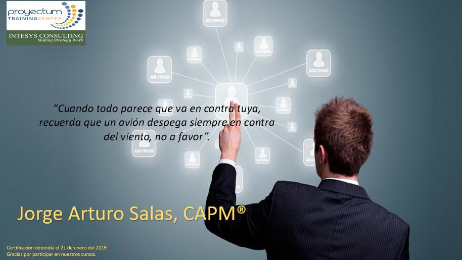 Jorge Arturo Salas, CAPM®