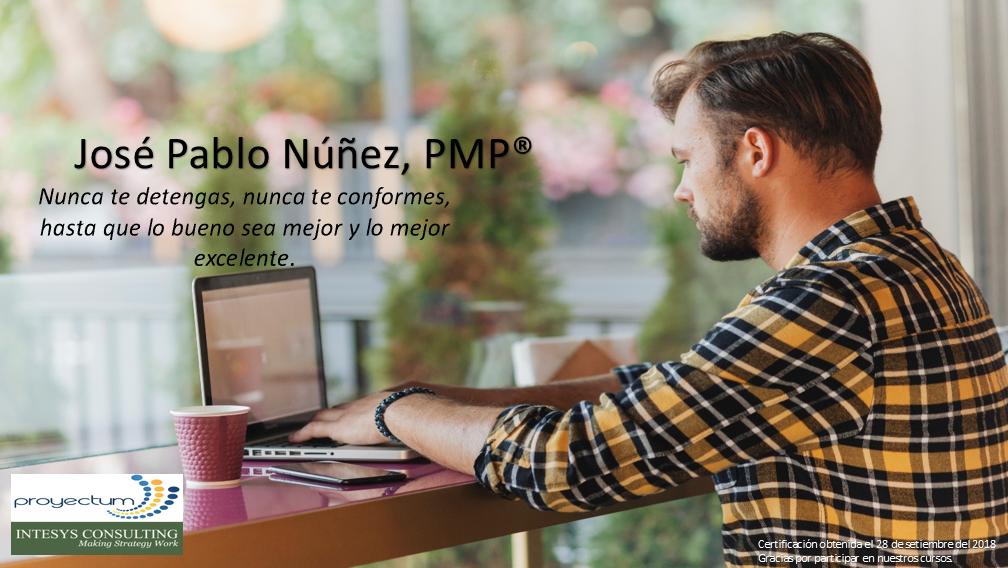 José Pablo Núñez, PMP®