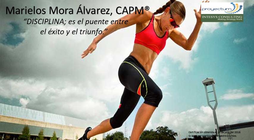 Marielos Mora Álvarez, CAPM®