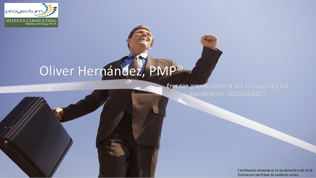 Oliver Hernández, PMP®