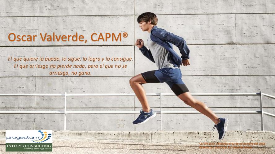 Oscar Valverde, CAPM®