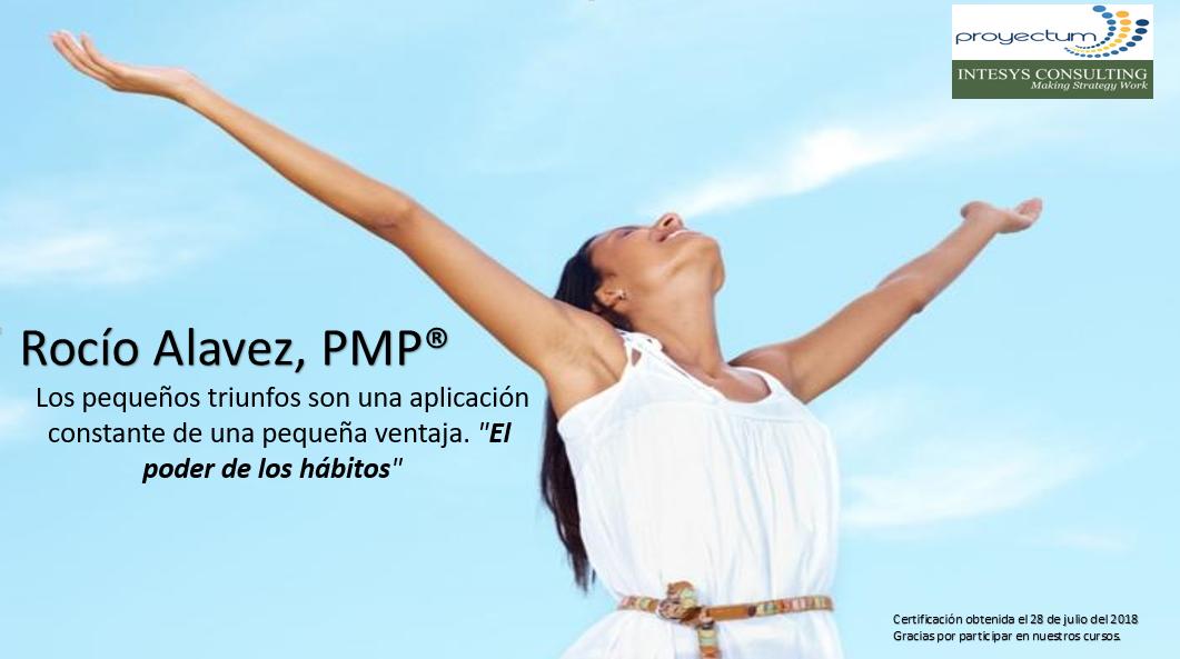 Rocío Alavez, PMP®