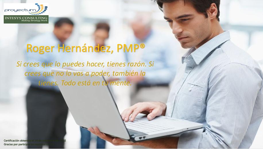 Roger Hernández, PMP®