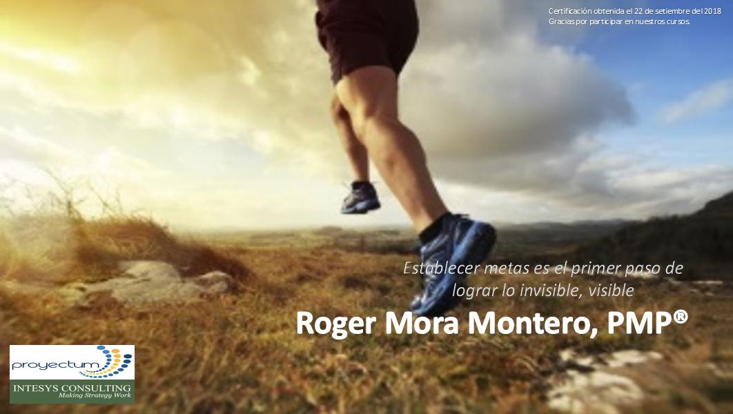 Roger Mora Montero, PMP®