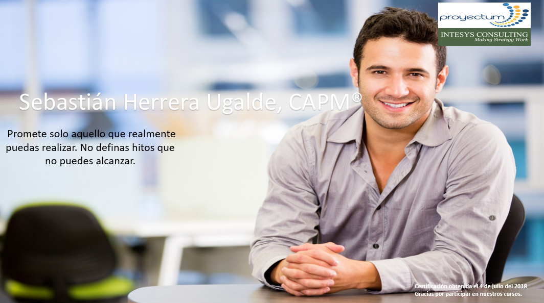 Sebastián Herrera Ugalde, CAPM®