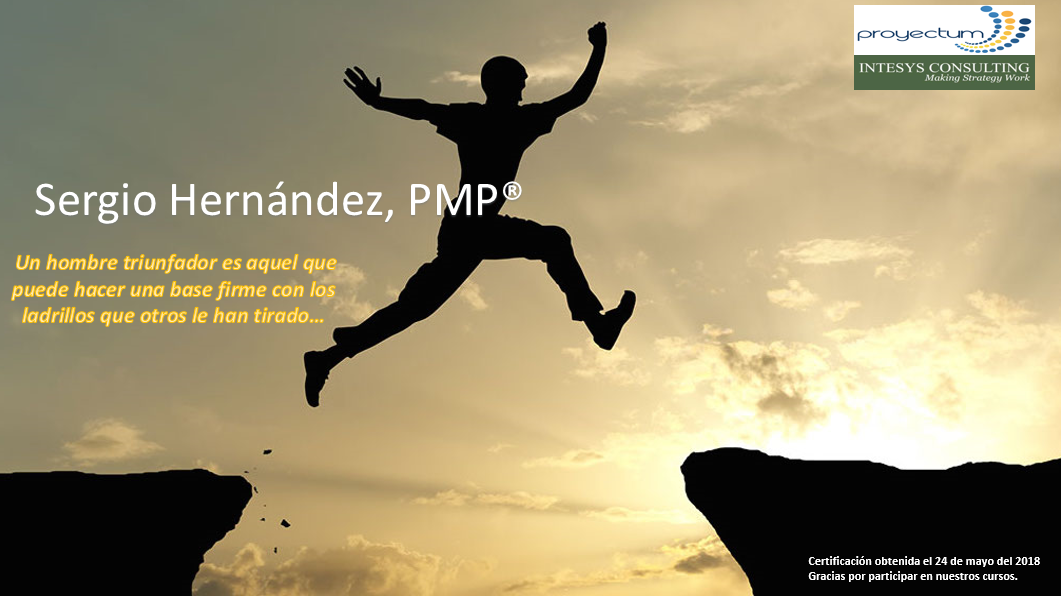 Sergio Hernández, PMP®