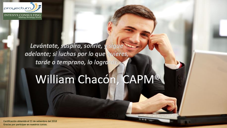 William Chacón, CAPM®